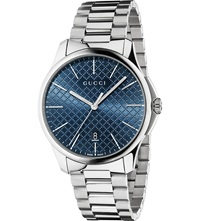 Gucci Ya126316 G Timeless Slim Collection Stainless Steel Watch