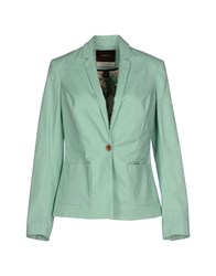 Maison Scotch Suits And Jackets Blazers Women Light Green