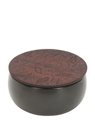 Alessi Shhh Scented Candle Black