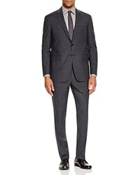 Todd Snyder Charcoal Check Slim Fit Suit Dark Grey