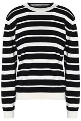 Iris And Ink Charlie Cotton Cashmere Blend Sweater Black