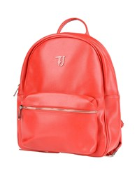 Trussardi Jeans Backpacks And Fanny Packs Red