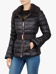 Ted Baker Yelta Quilted Down Jacket Grey