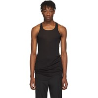 Rick Owens Black Basic Tank Top
