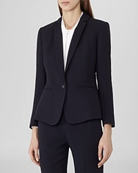 Reiss Blazer Murano Slim Fit Blue Black