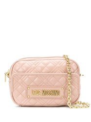 Love Moschino Quilted Shoulder Strap 60