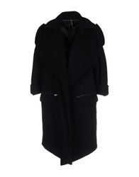 Manila Grace Coats Black