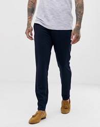 Only And Sons Slim Smart Trouser In Navy