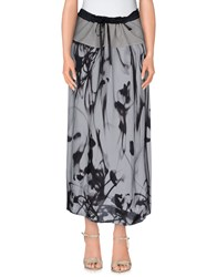 Devotion Skirts 3 4 Length Skirts Women Dove Grey