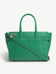 Zadig And Voltaire Candide Medium Leather Tote Gazon