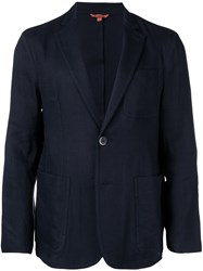 Barena Suit Jacket Blue
