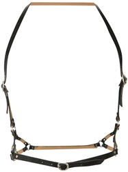 Calleen Cordero 5 Harness Belt Black