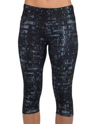 Jockey City Lights Judo Leggings Deep Black