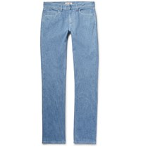 Loro Piana Slim Fit Stretch Denim Jeans Light Denim