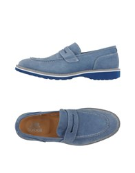 Barbati Footwear Moccasins Men Pastel Blue
