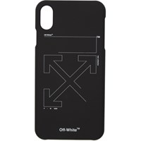 Off White Black And Unfinished Iphone X Case
