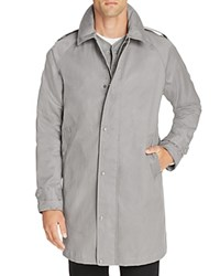 Sempach 3 In 1 Mac Canvas Coat With Quilted Warmer Grey