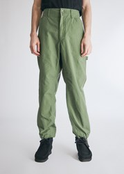 Engineered Garments Painter Pant In Olive Size Small 100 Cotton