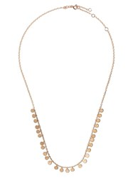Kismet By Milka 14Kt Rose Gold Dangle Disc Necklaces