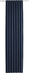 Cb2 Velvet Navy Curtain Panel 48 X108