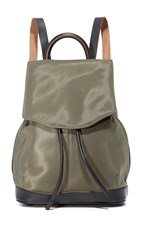 Rag And Bone Mini Pilot Backpack Olive