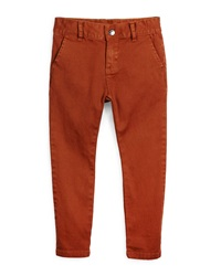 Appaman Bushwick Stretch Twill Pants Gingerbread Size 4 14
