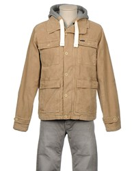 Billabong Coats And Jackets Jackets Men Beige