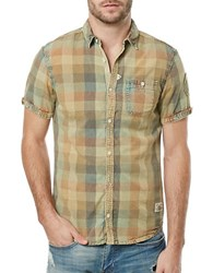 Buffalo David Bitton Savilica Plaid Shirt Sunny