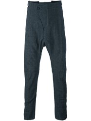 Masnada Baggy Drop Crotch Trousers Grey