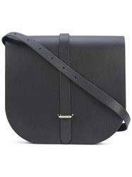 The Cambridge Satchel Company Saddle Bag Women Calf Leather One Size Black