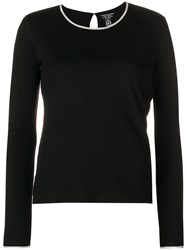 Majestic Filatures Perfectly Fitted Sweater Black