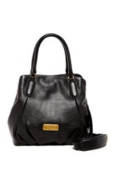 Marc By Marc Jacobs Fran Leather Satchel Black