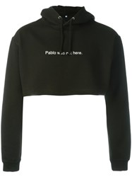 F.A.M.T. 'Pablo Was Not Here' Hoodie Black