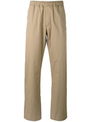 Our Legacy Relaxed Fit Trousers Men Cotton 52 Brown