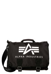 Alpha Industries Oxford Across Body Bag Black