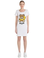Moschino Swim Cotton Jersey Dress