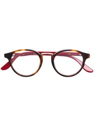 Carrera Contrast Arm Glasses Brown