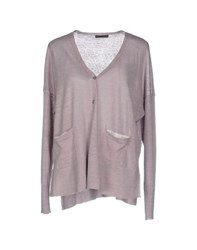Oska Knitwear Cardigans Women Dove Grey