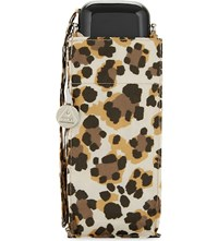 Fulton Leopard Print Small Umbrella Wild Cat