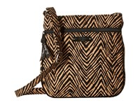 Vera Bradley Petite Double Zip Hipster Zebra Handbags Animal Print