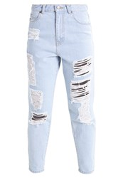 Dr. Denim Dr.Denim Nora Relaxed Fit Jeans Serious Light Retro Destroyed Denim