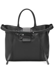Tod's Double T Tote Bag Black