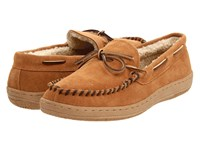L.B. Evans Morgan Tan Suede Men's Slippers