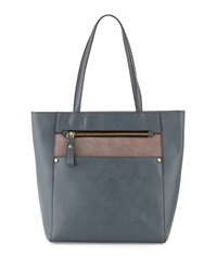 Oryany Daphne Saffiano Leather Tote Bag Slate