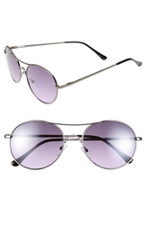 Icon Eyewear 53Mm Metal Aviator Sunglasses Gun