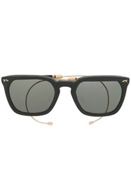 Matsuda Square Shaped Sunglasses Black