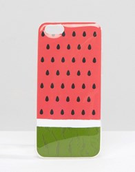Signature Watermelon Print Iphone 6 Case Pink Green