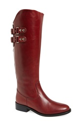 Andre Assous Andre Assous 'Roma' Tall Boot Women Bordeaux Leather