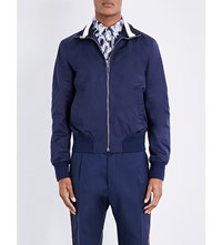 Bally Shell Tracksuit Jacket Marine