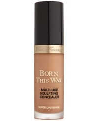 Too Faced Born This Way Super Coverage Multi Use Sculpting Concealer Maple Deep Tan With Neutral Undertones